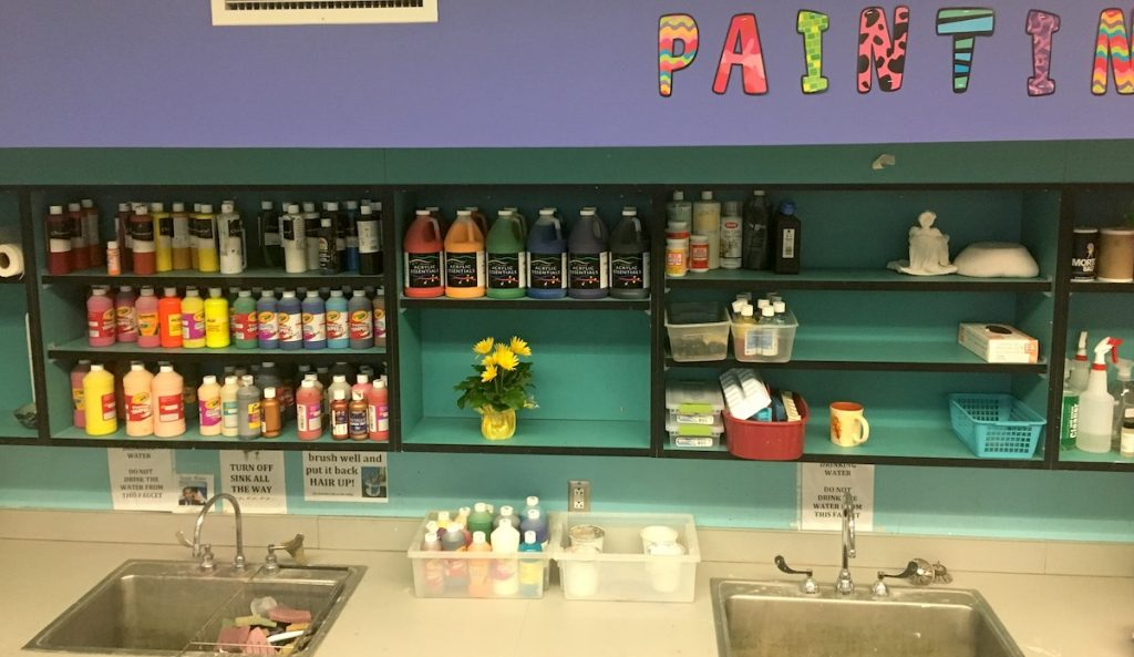 commercial education painting center